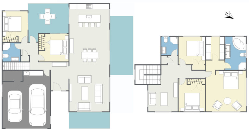 Floorplan letterhead - 19 Fennell Crescent, Silverdale - 1. Floor - 2D Floor Plan