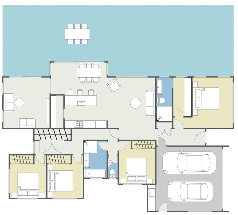 Floorplan letterhead - 47 Ormond Drive,Millwater - 1. Floor - 2D Floor Plan