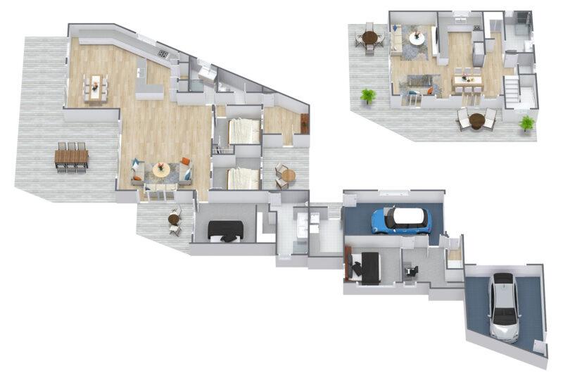 Floorplan letterhead - 63 Eveline St - 1. Floor - 3D Floor Plan